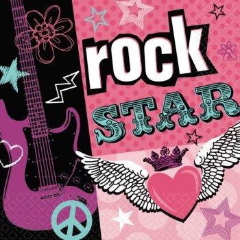 Rocker Girl Lunch Napkins-0