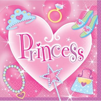 Princess Lunch Napkins-0