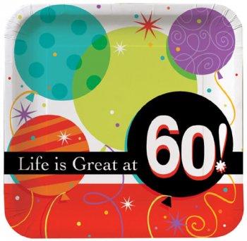 "60"" Brthday Lunch Plates-0"