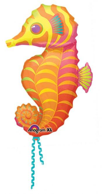 "Seahorse Shape Foil Balloons 35"" P30 -0"