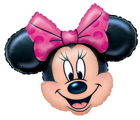 Super Shape Minnie Mouse Balloons P38-0
