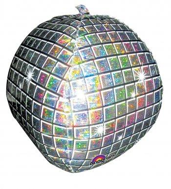 Disco Ball Balloons 15in P45 -0