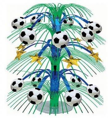 Soccer Cascade Centerpiece-0