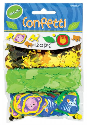 Jungle Animals Confetti-0