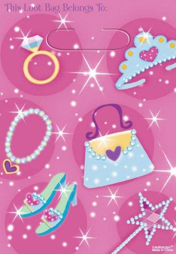 Loot Bags Princess - 8CT-0