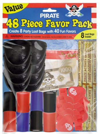 Pirate Party Mega Value Pack - 48ct-0