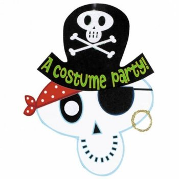 Skeleton Pirate Party-0
