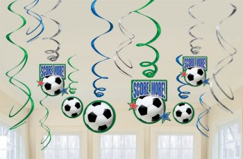 Decoration Swirl Value Pack Soccer Party-0