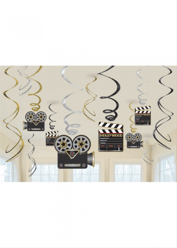 Decoration Swirl Value Pack Hollywood Party-0