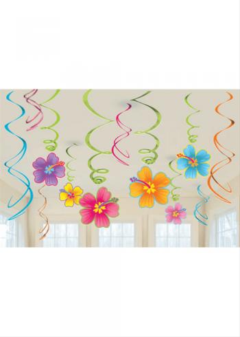 Swirl Decoration Luau-0