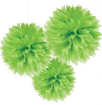 Fluffy Decoration Green-0