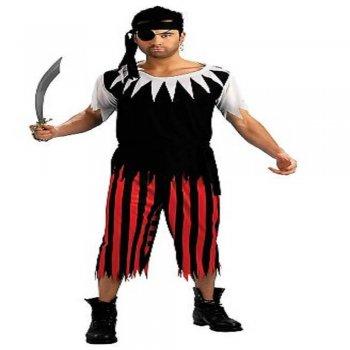 Pirate Costume Adult-0