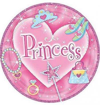 "PRINCESS 7"" PRISMATIC PLATE-0"