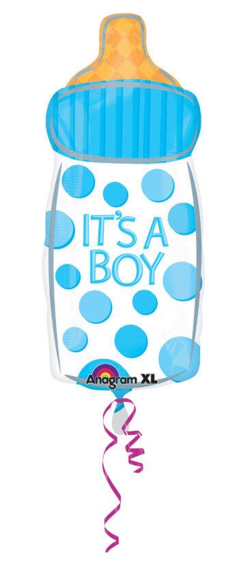 """18"""" It`S A Boy Baby Bottle Junior Shape XL S60-0"""
