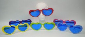 Jumbo Heart Shaped Glasses-0