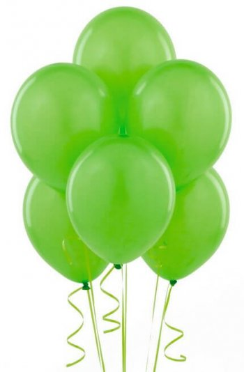 "8"" Green Latex Ballons -20ct-0"