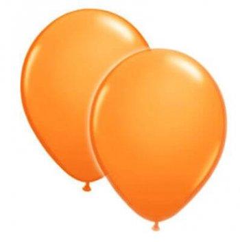 """8"""" Orange Latex Balloons -20ct-0"""