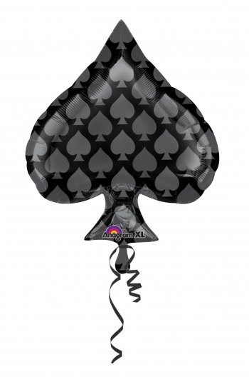 Foil Spade Balloons 18in S60-0