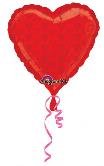 Foil Hearts Balloons 18in S60-0