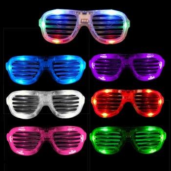 LED Shutter Shades Round-0