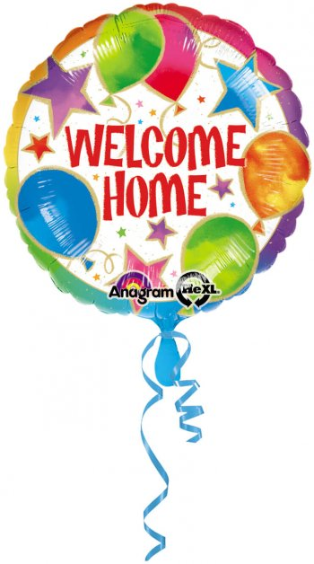 """Welcome Home Celebration 18"""" S40-0"""