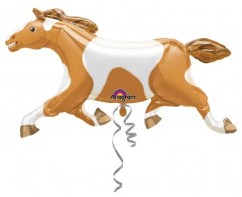 Painted Pony Horse Balloons 41inches P35-0