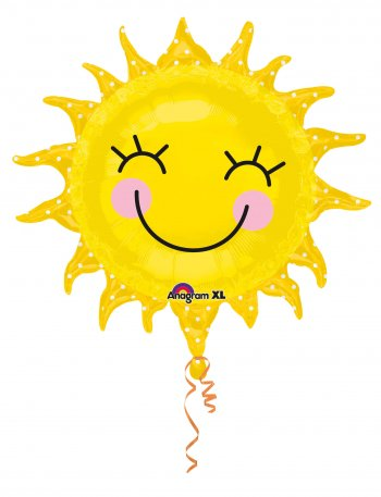 Smiling Sun Balloons 26in P35-0