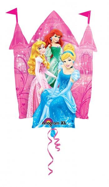 "Disney Princess Castle Supershape Balloons 36"" P38-0"