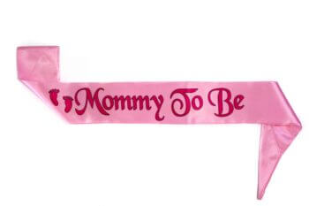 Mommy To Be Satin Sash-0
