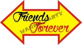 Friends Forever Photo Prop-0