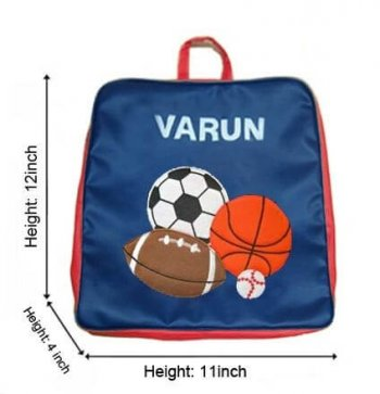 Personalised Backpack-Sports-0