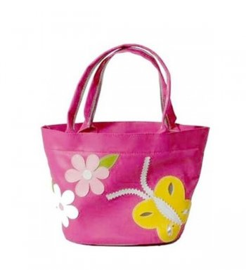 Personalised Handbag-Flowers & Butterflies-0