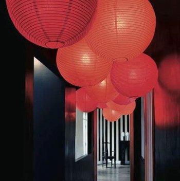 Paper Lantern Red - 1PC-0