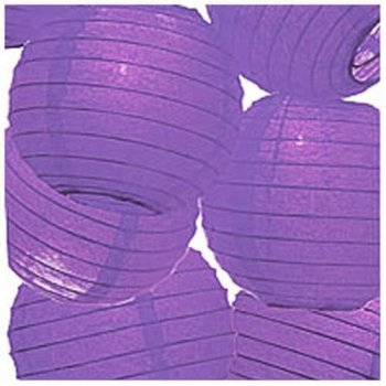 Purple Paper Lantern - 1PC-0
