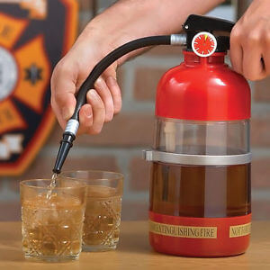 Fire Extinguisher Drink Dispenser-0