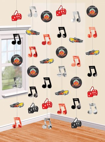Classic 50's String Decoration - 6CT-0
