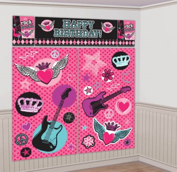Rocker Princess Scene Setter Kit-0