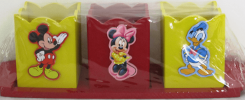 Customized Mickey Set of 3 Penstand-0