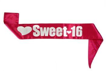 Sweet 16 Sash-0