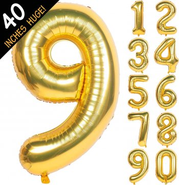 Numerical Balloons No. 9