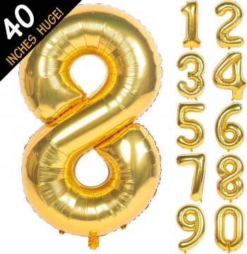 numerical balloon 8