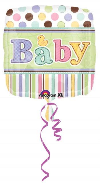 "Tiny Bundle Baby Balloons 18"" S40-0"