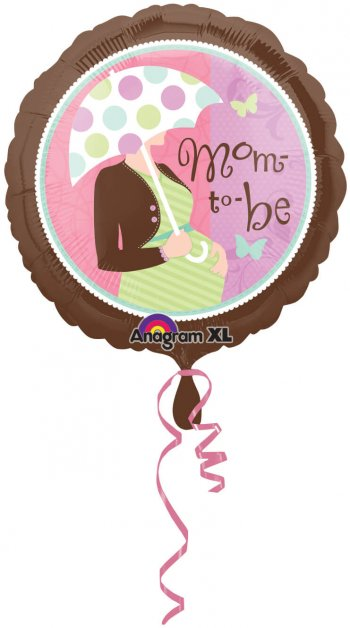 "Mom To Be Balloons 18"" S40-0"