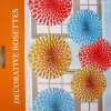 Polka Dot Fan Assorted Color - 6CT-8024