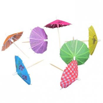 Hawaiian Parasol Picks - 20PC-0