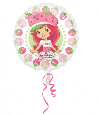 Strawberry Shortcake Pattern Balloons 18-0