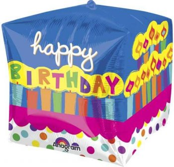 Birthday Cake Cube Balloons-0
