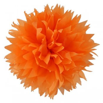 Fluffy Decoration Orange - 3CT-0