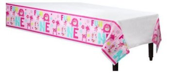 """One Wild Girl Pl. Tablecover 54 X 108"""" -0"""