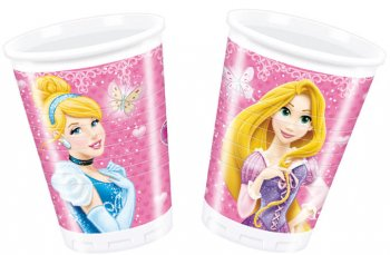Princess Plastic Cups - 8CT-0